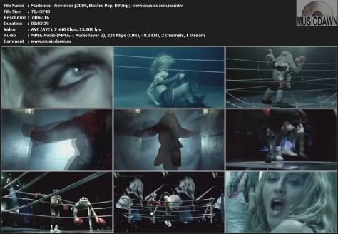 Madonna - Revolver (2009, Electro Pop, DVDrip)