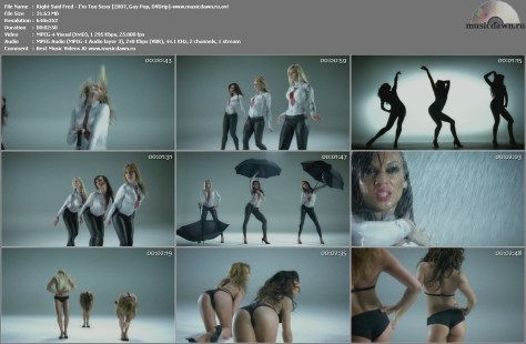 Right Said Fred – I'm Too Sexy [2007, DVDrip] Music Video