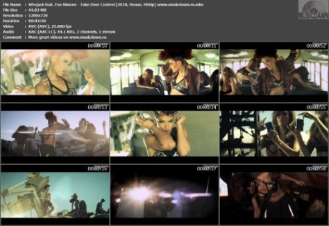 Afrojack feat. Eva Simons – Take Over Control [2010, HDrip] Music Video