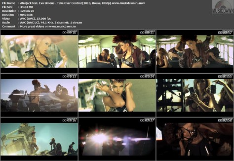 Afrojack feat. Eva Simons - Take Over Control (2010, House, HDrip)