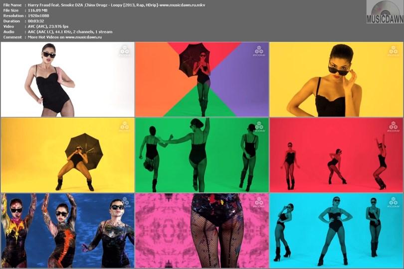 Harry Fraud feat. Smoke DZA & Chinx Drugz - Loopy [2013, Rap, HD1080p]
