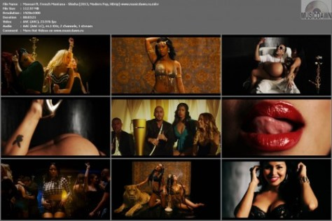 Massari ft. French Montana – Shisha [2013, HD 1080p] Music Video