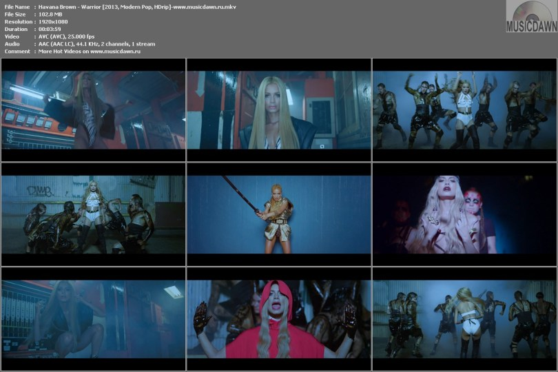 Havana Brown - Warrior [2013, Modern Pop, HD 1080p]