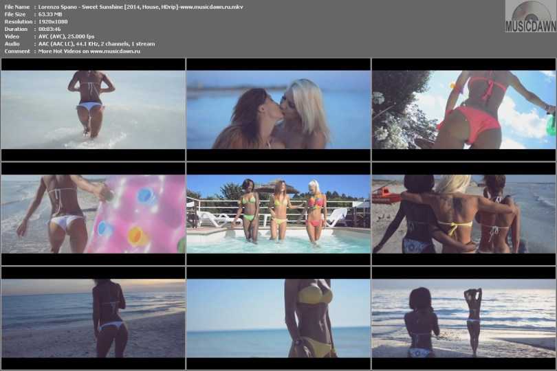 Клип Lorenzo Spano - Sweet Sunshine [2014, House, HD 1080p]