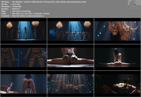 Клип The Weeknd - Earned It (Fifty Shades Of Grey) РВ 1080p