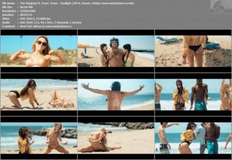 The Magician ft. Years & Years - Sunlight 2014, HD 1080p Видео