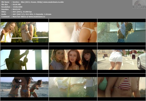 Серебро / Serebro – Kiss [2015, HD 1080p] Music Video