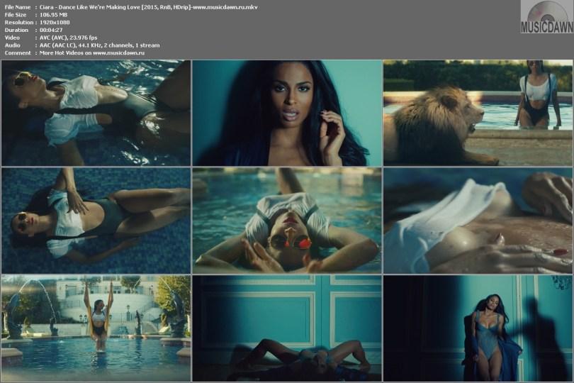Клип Ciara - Dance Like We're Making Love 2015, HD 1080p
