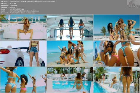 Cristina Spatar – Marbella [2015, HD 1080p] Music Video