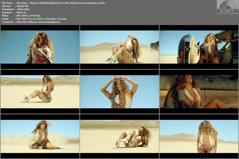 Клип Vina Vuna - Phuq Da World [Explicit] HD 1080p