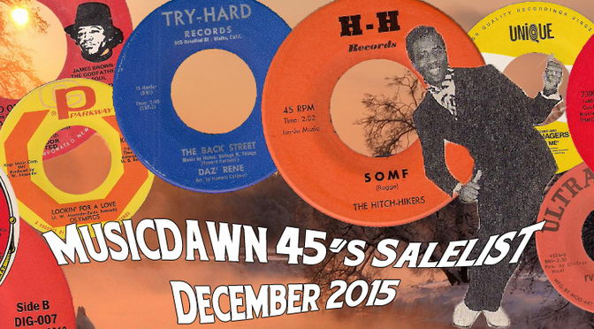 musicdawn december 2015 sale-list