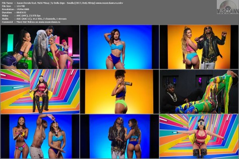 Клип Jason Derulo feat. Nicki Minaj & Ty Dolla $ign – Swalla [2017, HD 1080p] Music Video