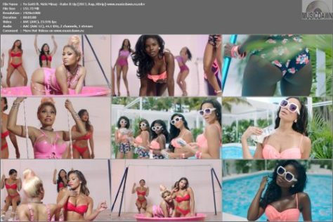 Клип Yo Gotti ft. Nicki Minaj – Rake It Up [2017, HD 1080p] Music Video