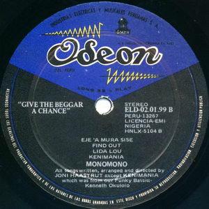 Monomono - Give The Beggar A Chance - The Lightning Power Of Awareness 1972 Side B