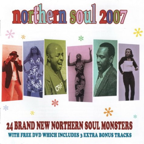 Various Artists - Northern Soul 2007 Front Cover Art