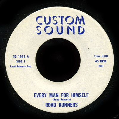 Road Runners - Custom Sound 45 # SC 1023