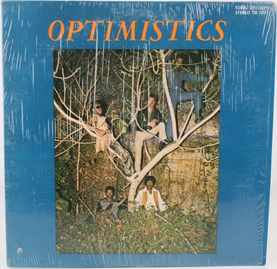 The Optimistics - Optimistics LP (Turbo Records) Front Cover