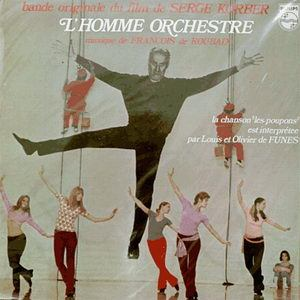 Francois de Roubaix - LHomme Orchestre (Original Soundtrack) Original LP cover art