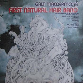 Galt Macdermots First Natural Hair Band Lp Cover ART (1968)
