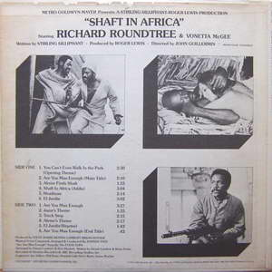 Johnny Pate - Shaft In Africa Back Cover