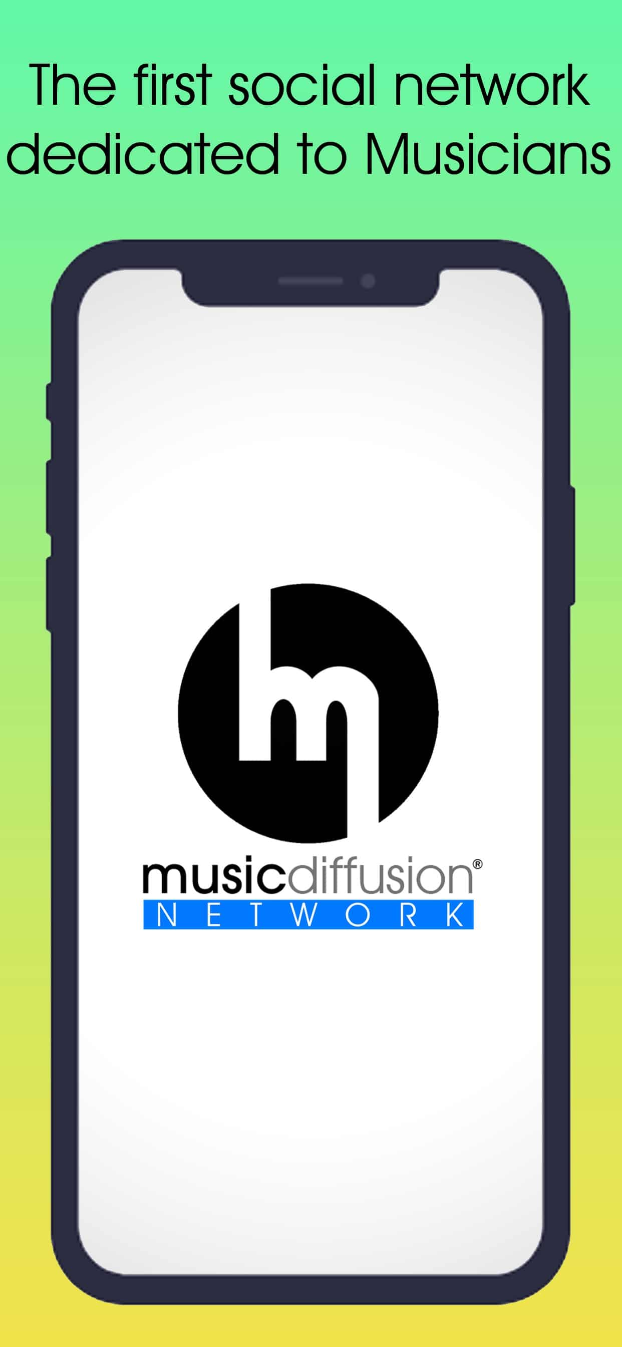 MusicDiffusion Network Screenshot