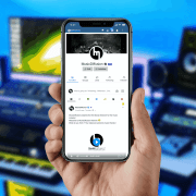 Application mobile MusicDiffusion (iOS - Android)