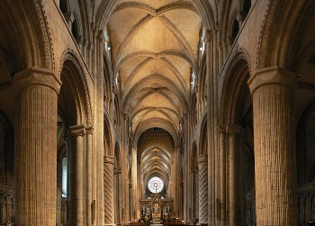 Nave of Durham Cathedral