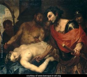 Antonio Zanchi, Nero (37-68 AD) with the Corpse of his Mother Agrippina (15-59 AD)