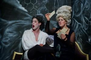 Jake Arditti (Nerone), Gillian Webster (Agrippina), English Touring Opera // Handel, Agrippina. Photo: Robert Workman