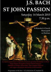 The Bishop's Consort: St John Passion