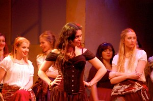 Sophia Smith Galer as Carmen. ©Laura Thomlinson