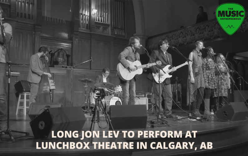 Long Jon Lev to Perform at Lunchbox Theatre in Calgary, AB