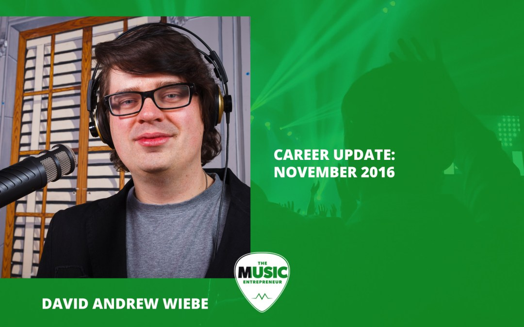 021 – Career Update: November 2016
