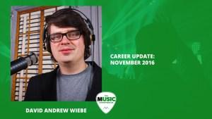 021 - Career Update: November 2016