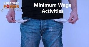 Minimum wage activities