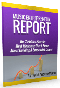 Music Entrepreneur Report: The 3 Hidden Secrets Most Musicians Don't Know About Building A Successful Career