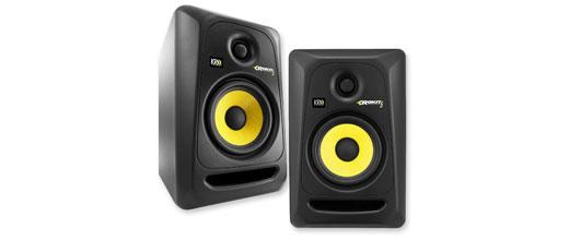 KRK RP5G3-NA Rockit 5 Generation 3 powered studio monitors