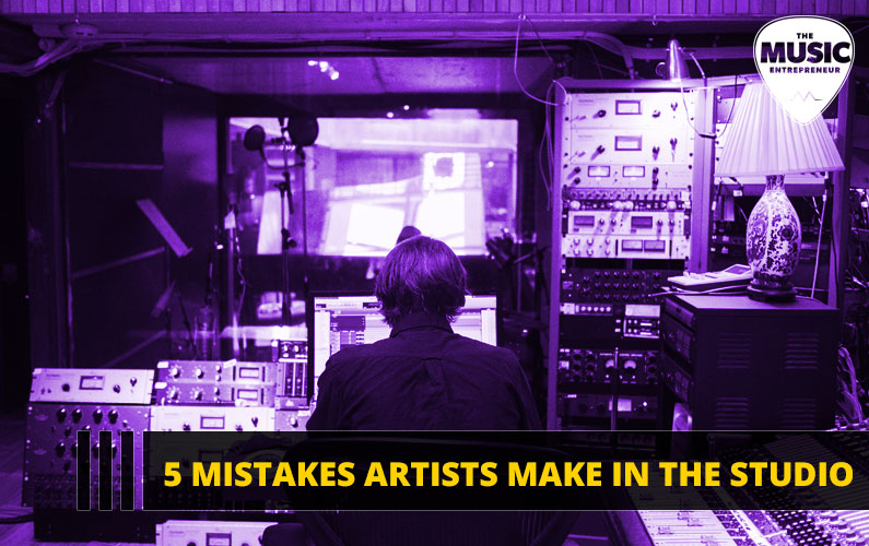 5 Mistakes Artists Make in the Studio