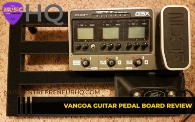 Vangoa (Ghost Fire) Guitar Pedal Board Review (Compact, Lightweight, Sturdy & Attractive)