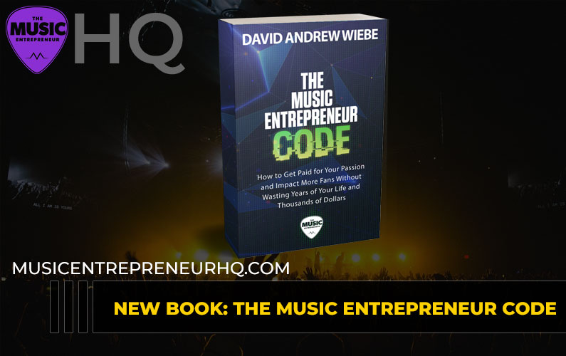 188 – New Book: The Music Entrepreneur Code