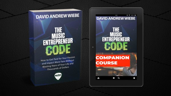 The Music Entrepreneur Code stack