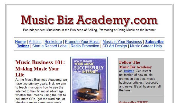 The Music Biz Academy