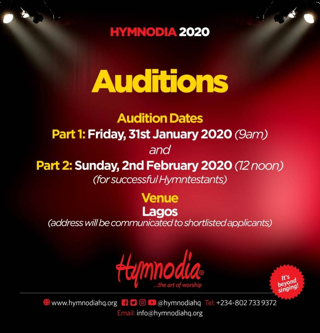 hymnodia audition