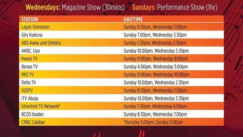 Hymnodia Season 2 tv schedule