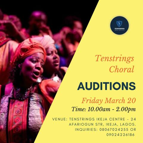 Tenstrings Choral audition