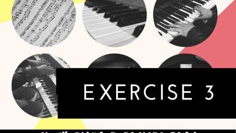 C. L. Hanon piano exercise 3