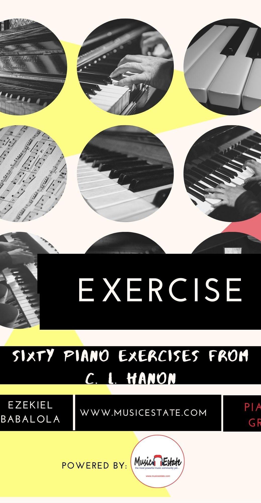 C. L. Hanon Piano exercise 5