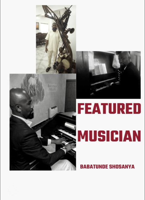 Featured Musician Babatunde Shosanya