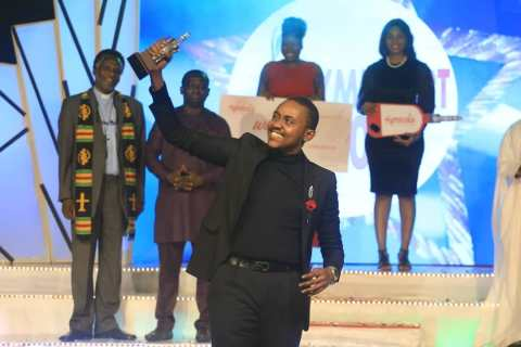 Hymnodia Season 2 winner Ediomo