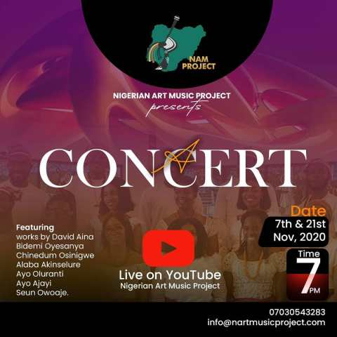 Nigerian Art Music Project Concert